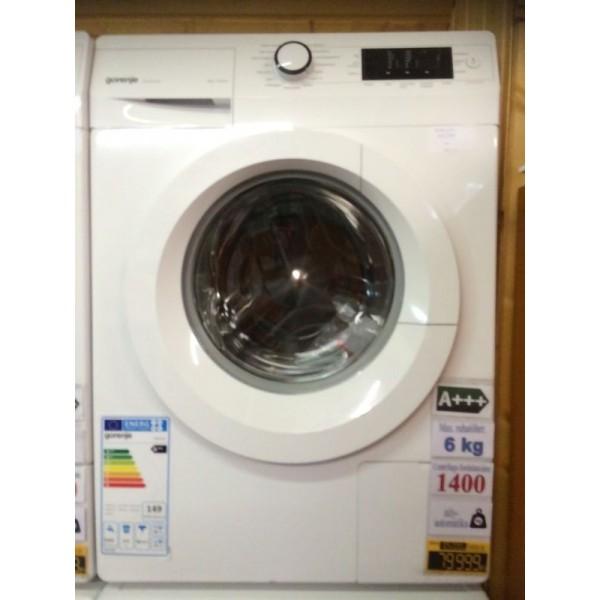 Gorenje W6543/S keskeny 6kg 1400 ford. szépséghibás elöltöltős akciós mosógép